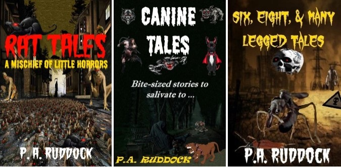 Cover previews for books 2 & 3 in the Creature Tales Collection …